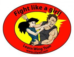 Fight like a girl by shumworld