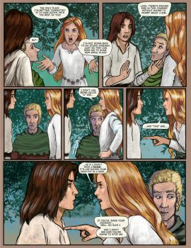 Prydain: the Graphic Novel, Chapter 10 Page 9 by saeriellyn