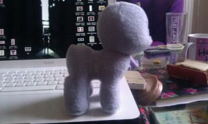 MLP Plushie: Baby Pony WIP by ivy-cinder