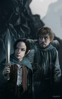 Not Frodo, not Sam by Loopydave