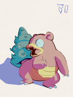 Slowbro by samszym