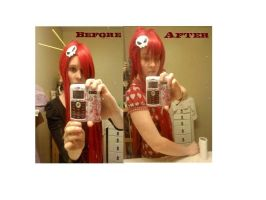 Yoko Wig basic stlyling by Foxy-Cosplay
