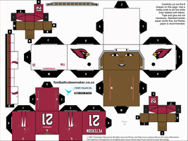 Patrick Peterson Cardinals Cubee by etchings13
