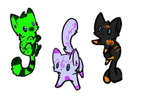 Halloween adoptables-CLOSED by Frozen-x-Rain