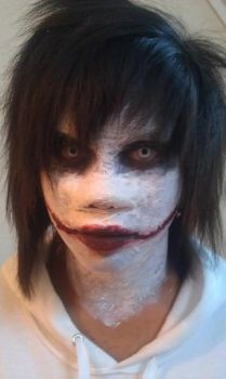 Jeff the Killer (cosplay) by wyzzaj