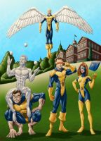 First 5 X-Men Colors by Brian-Robertson