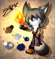 Re-Desing Reference 0o. Zacarias(Zack) .o0 by PauliCat-24
