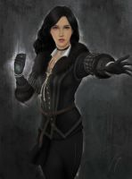 Yennefer of Vengerberg by risetoliberty93