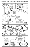 FRGN sidestories - It sucks to be a rival by MaxVesta