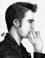 Rob Pattinson by Allie06