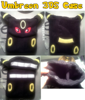 Umbreon 3DS Case by AlexGoneLoco
