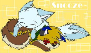 Snooze by Nemmikins
