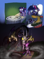 Twi VS Dis page Colored by Mickeymonster