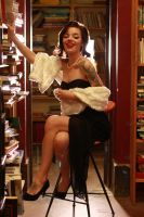 Pin-Up Book Party. by Sesh-Fairy