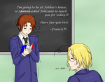 APH Learning French with Italy by IdelaK