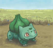 001 Bulbasaur by Psidra