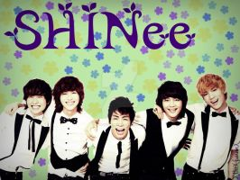 SHINee Wallpaper 3 by xTHExFUNNNX
