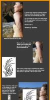 Fake Tattoo tutorial - Easy by Spunned
