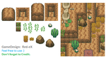 GD - Tileset - Gebirge by The-Red-eX