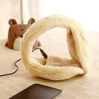 Knitted Fabric Headphone Music Earmuffs by tracylopez