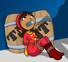 Word Girl in Trouble by Gambit-2099