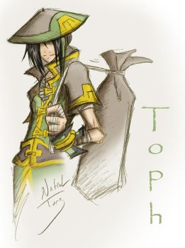 Older Toph v2 by Dyemelikeasunset