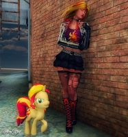 My Little Pony (Sunset Shimmer) by Axel-Doi