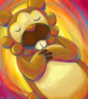 Speedpaint- Bidoof by pettyartist