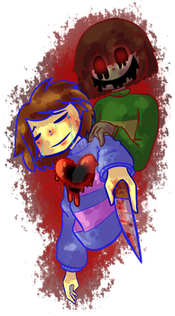 Frisk and Chara - Undertale by 1Toto1