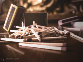 Matchsticks and hearts by jKeeO