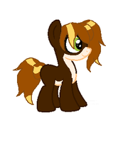 Bookworm filly by Shadowbane-kimikaro