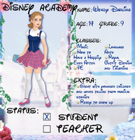 Wendy's Application by M-Mannering