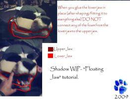 "Fursuit ""Floating Jaw"" by Sharpe19"