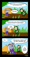 Warcraft Comic:  Mists of Draenor by Blayaden