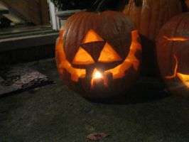 Triforce Pumpkin by Haayls
