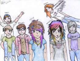 Bands unite by MailboxArsonal