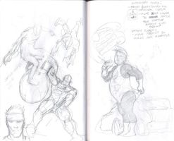 Peek into the Sketch book by paperlab