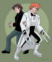 Rictor and Shatterstar by TheBlackCat-Gallery