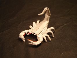 Origami Scorpion by KamiWasa