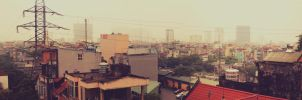 One corner of the city by HoangMinh96