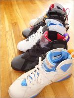 Air Jordan 7 Lineup pt 2 by BBoyKai91