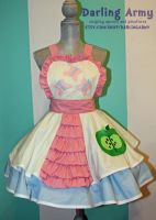Custom Fluttershy/Big Mac Cosplay Pinafore Comm by DarlingArmy
