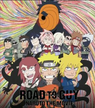 Naruto Road to Guy poster by hocuspukeus