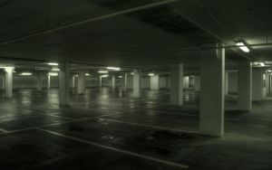 Empty Parking Garage by thimic
