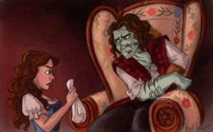 Rumbelle: Bad Temper by TottieWoodstock