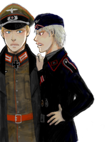 hetalia - germans 1940 by lackofsleep
