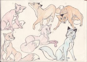 Animals of Farthing Wood Book Characters by TheGirlInTheAttic