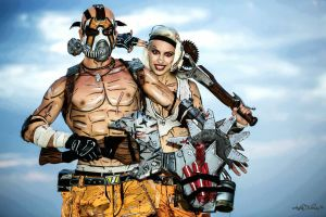 Best Couple Psycho - Borderlands 2 Cosplay by Leon by LeonChiroCosplayArt