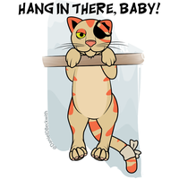 Hang In There, Baby! by Gr8Gonzo