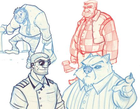 University's sketches by Lukos-PNP